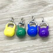 Colorful Miniature Kettlebell Charms