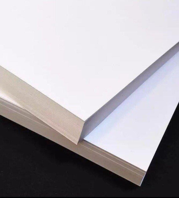 Add-On Option, Extra Thick Cardstock, Upgrade Double Thickness, White Bristol, 300gsm, 120lb Heavy Paper, Custom Cards, Personalized Gifts