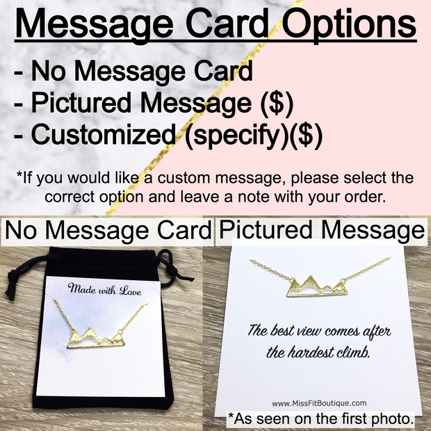 Stepmom Card, Horizontal Arrow Necklace, Gold, Silver, Rose Gold
