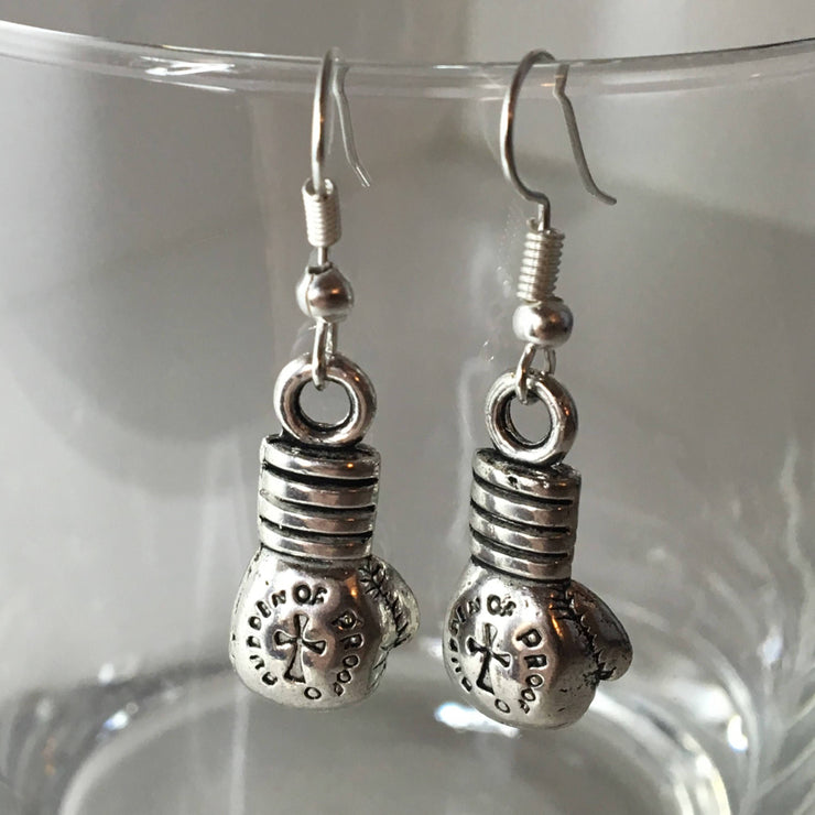 Fitness Earrings - Boxing Glove Earrings, Boxing Jewelry, Kickboxing, Fitness Gifts, Gifts For Her
