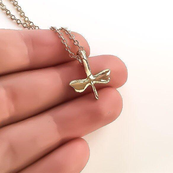 Free Spirit Necklace, Be A Dragonfly Necklace, Dainty Necklace, Strength Jewelry, Tiny Dragonfly, Gifts For Her, Birthday, Best Friend Gift