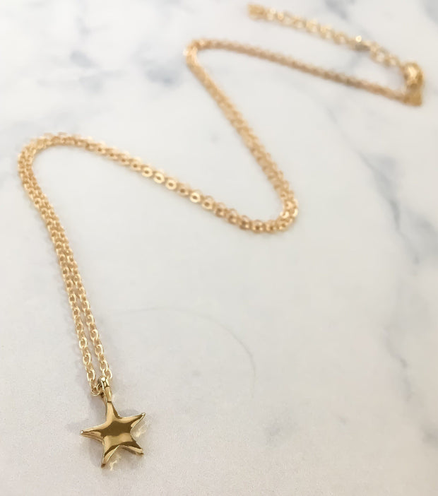 Best Friends Are Like Stars, Tiny Gold Star Necklace, Dainty Celestial Jewelry, BestFriend Birthday Gifts, Long-Distance Friendship Gift