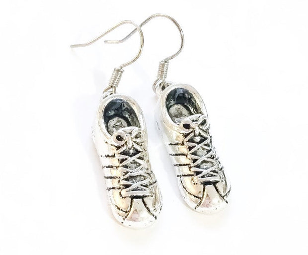 Running Shoe Earrings, Running Charms, Fitness Earrings, Gifts for Her, Running Gifts, Marathon, Runner Jewellery, Gifts for Runners