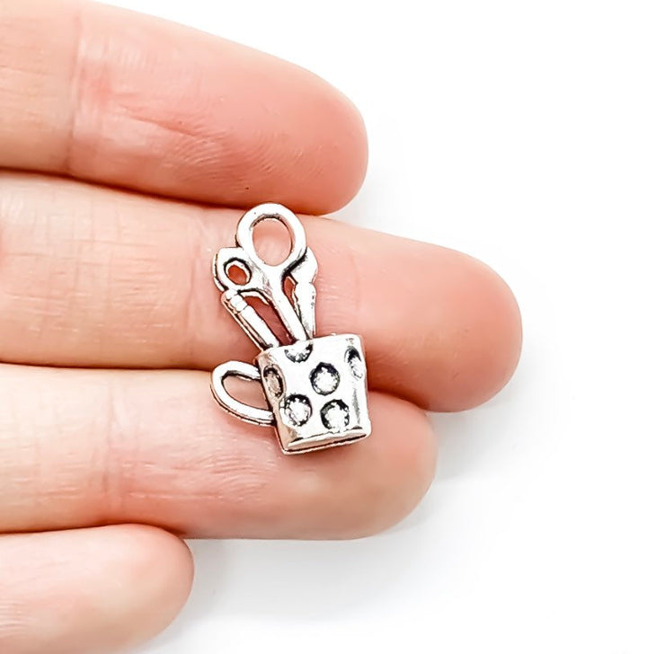 1 Pencils Cup Charm,
