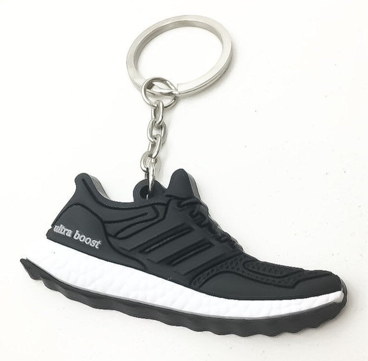 Silicone Running Shoe Keychain, Gift for Runner, Running Keychain, Running Gift, Fitness Keychain, 5K Running Gift, Clearance