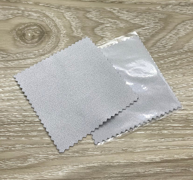 Add On Polishing Cloth, Square Jewelry Polishing, Silver Cleaning Cloth, Anti-Tarnish Wiping Cloth, Tarnish Remover, Soft, Velvet, 3X3""