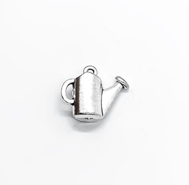 1 Tiny Watering Can Charms, Gardening