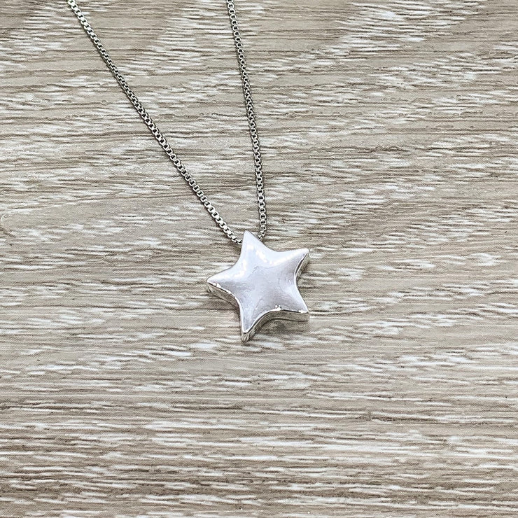 Best Friends Are Like Stars Card, Sterling Silver Star Necklace, Gift for Best Friend, Friendship Necklace, Friend Christmas Gift, Woman