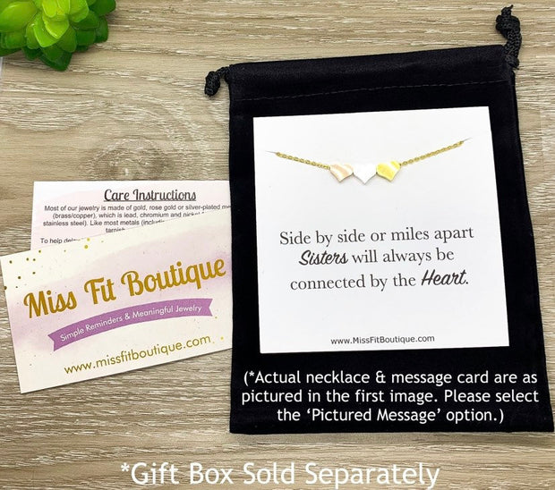 Nana Gift, Compass Charm Necklace, Long Distance Relationship Card, Gift for Grandma, Mimi Gift, Compass Jewelry, Birthday Gift