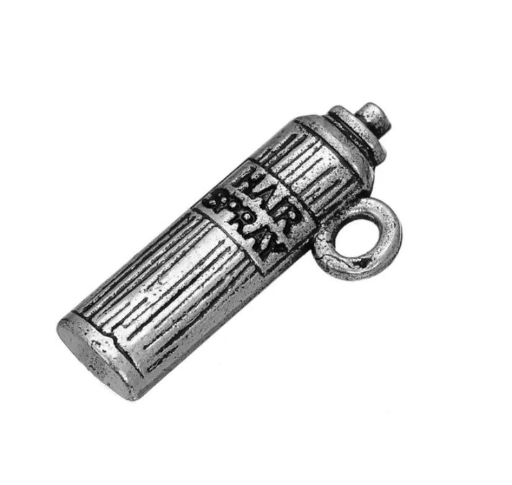 1 Hairspray Can Charm, Salon