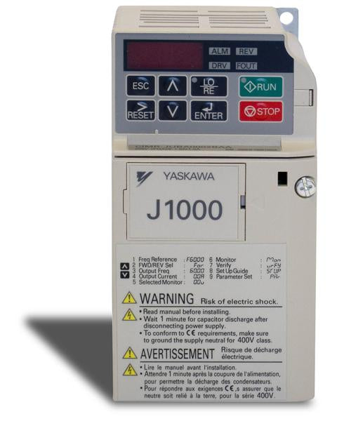 1/8 & 1/4 HP 230 V CIMR-JUBA0001BAA Single Phase Input