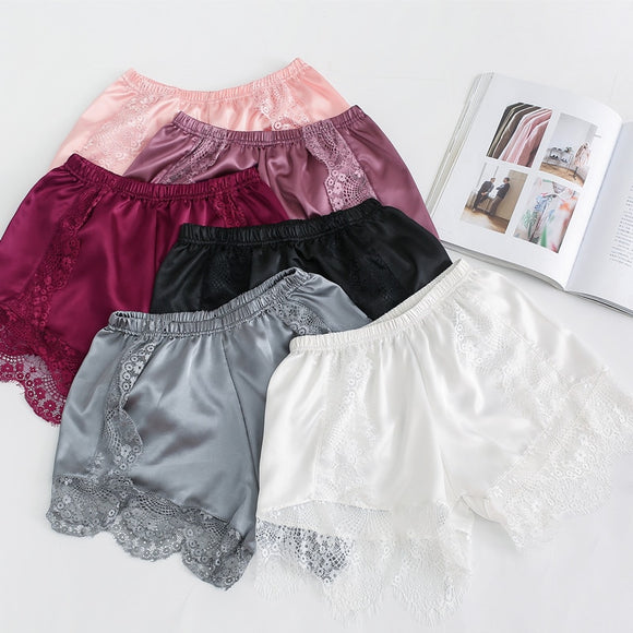 Silk and Lace Women Briefs