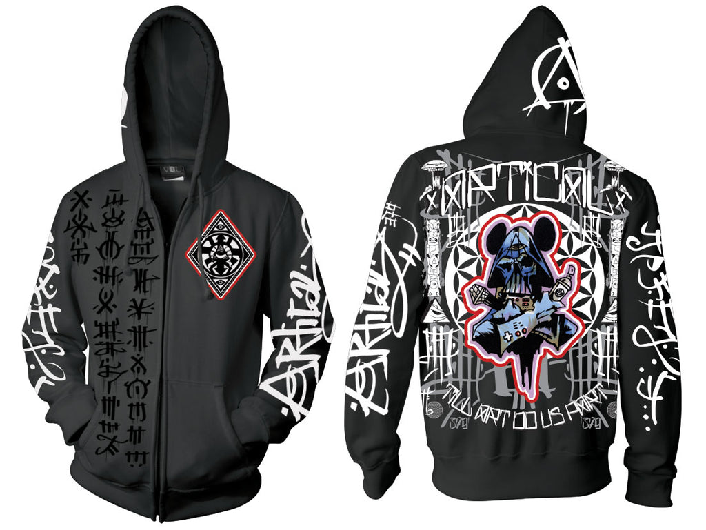 Darth Control Patch Hoodie