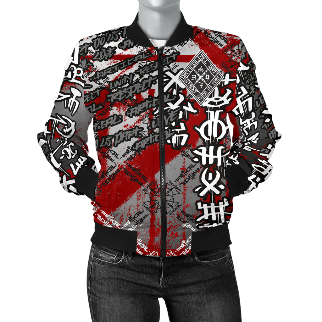 Bear-Axe Women's Bomber Jacket