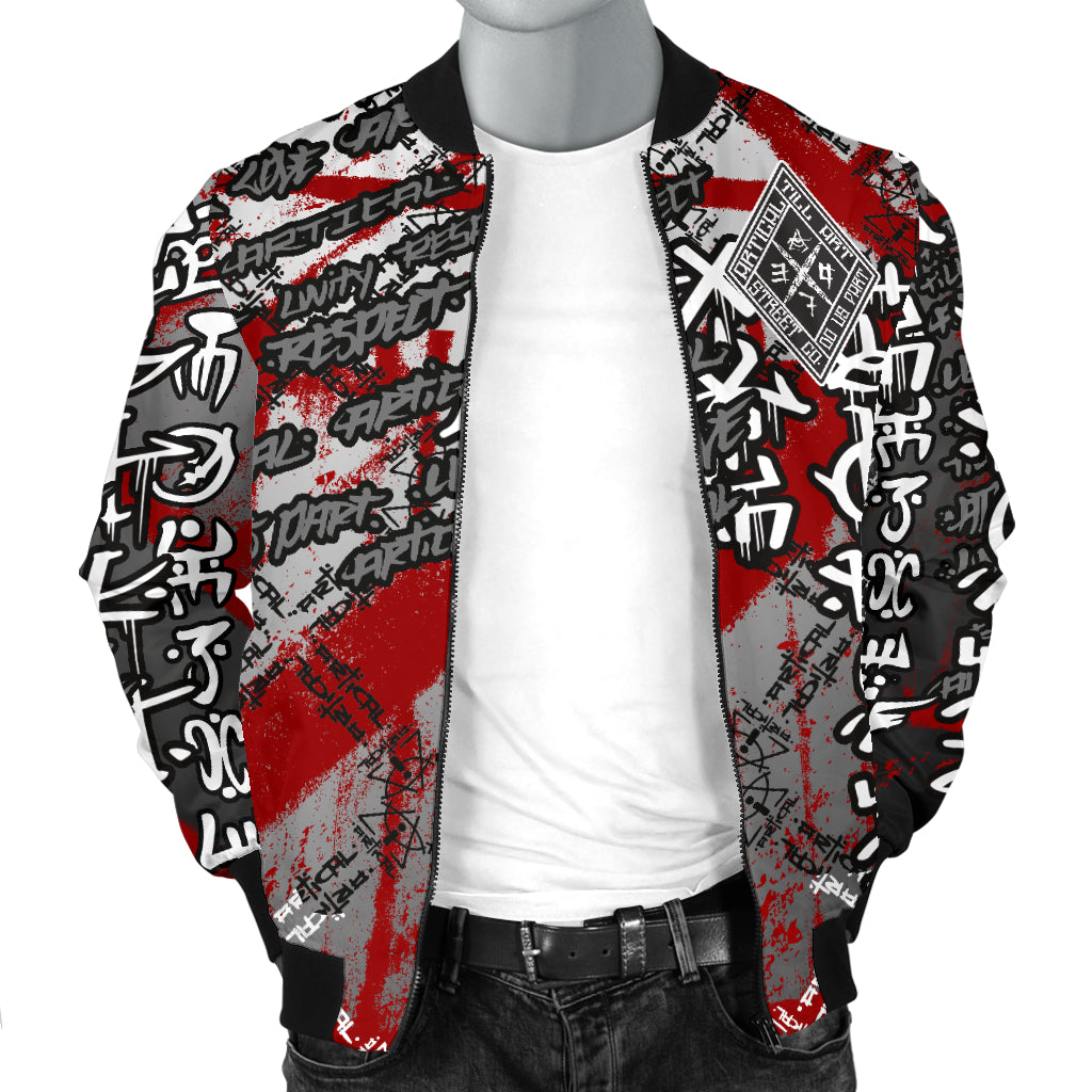Bear-Axe Men's Bomber Jacket