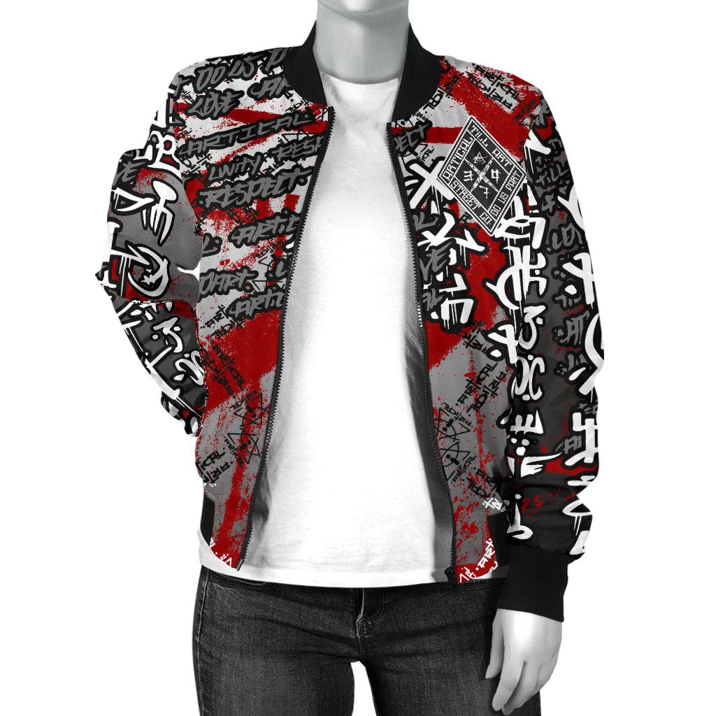 Kings Back Women's Bomber Jacket