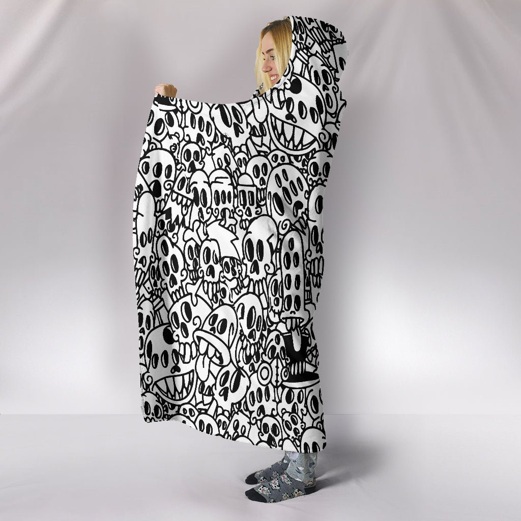 All Eyes Hoodie Blanket