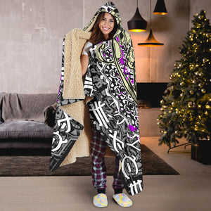 Box Rider Hooded Blanket