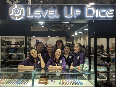 Level Up Dice Team