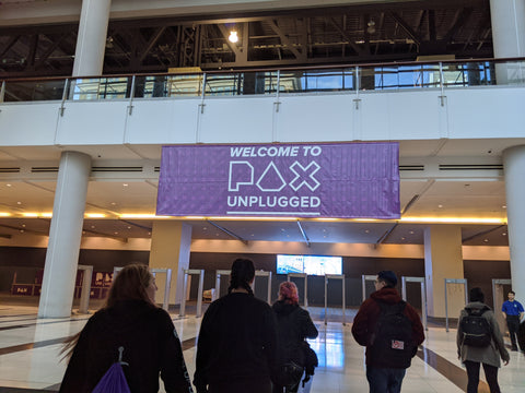 PAX Unplugged Entrance