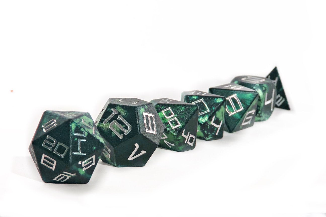 Jungle Blatron Aluminium Dice Set