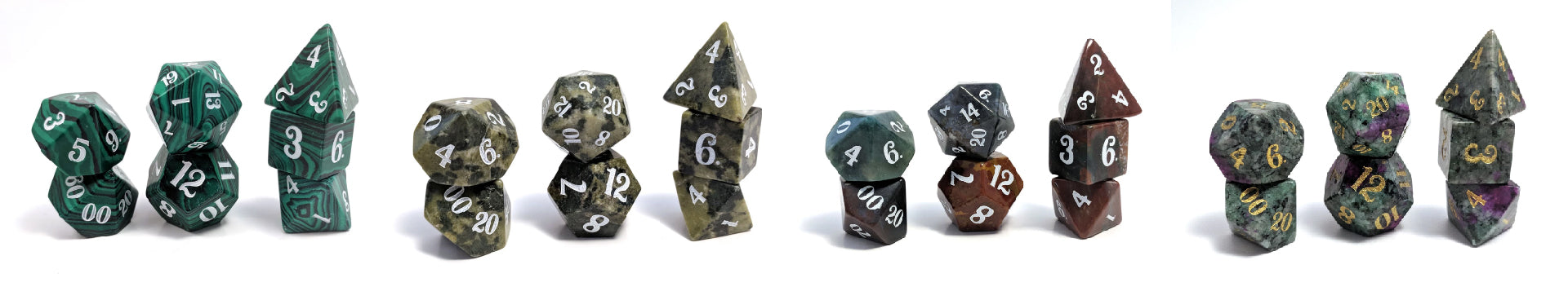 Green druid dice sets