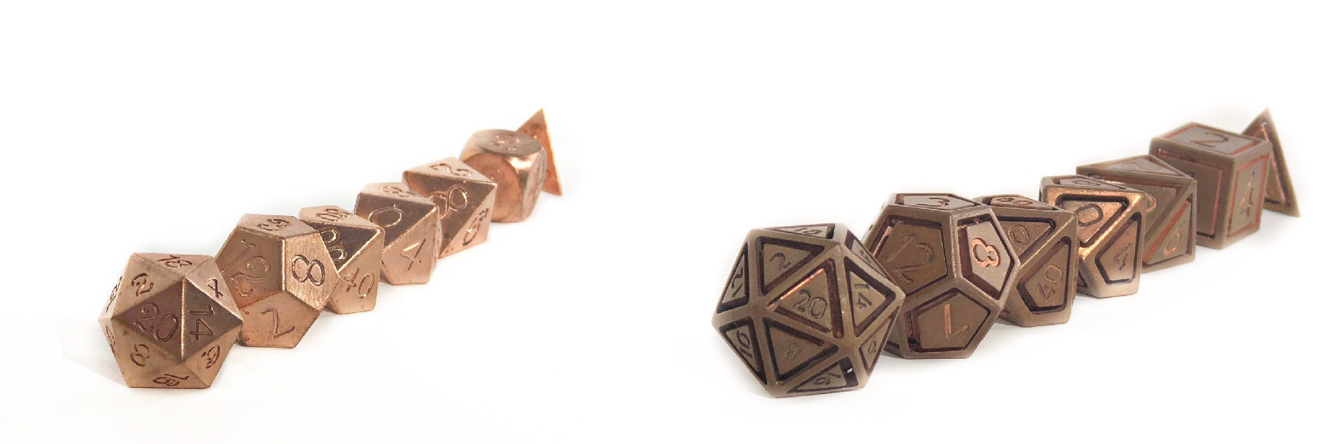 Solid copper set and caged copper set