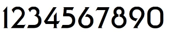 Military Numbers