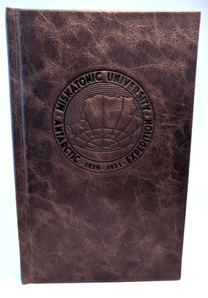 Type 40 Call of Cthulhu Leather Campagin Journal - At the Mountains of Madness