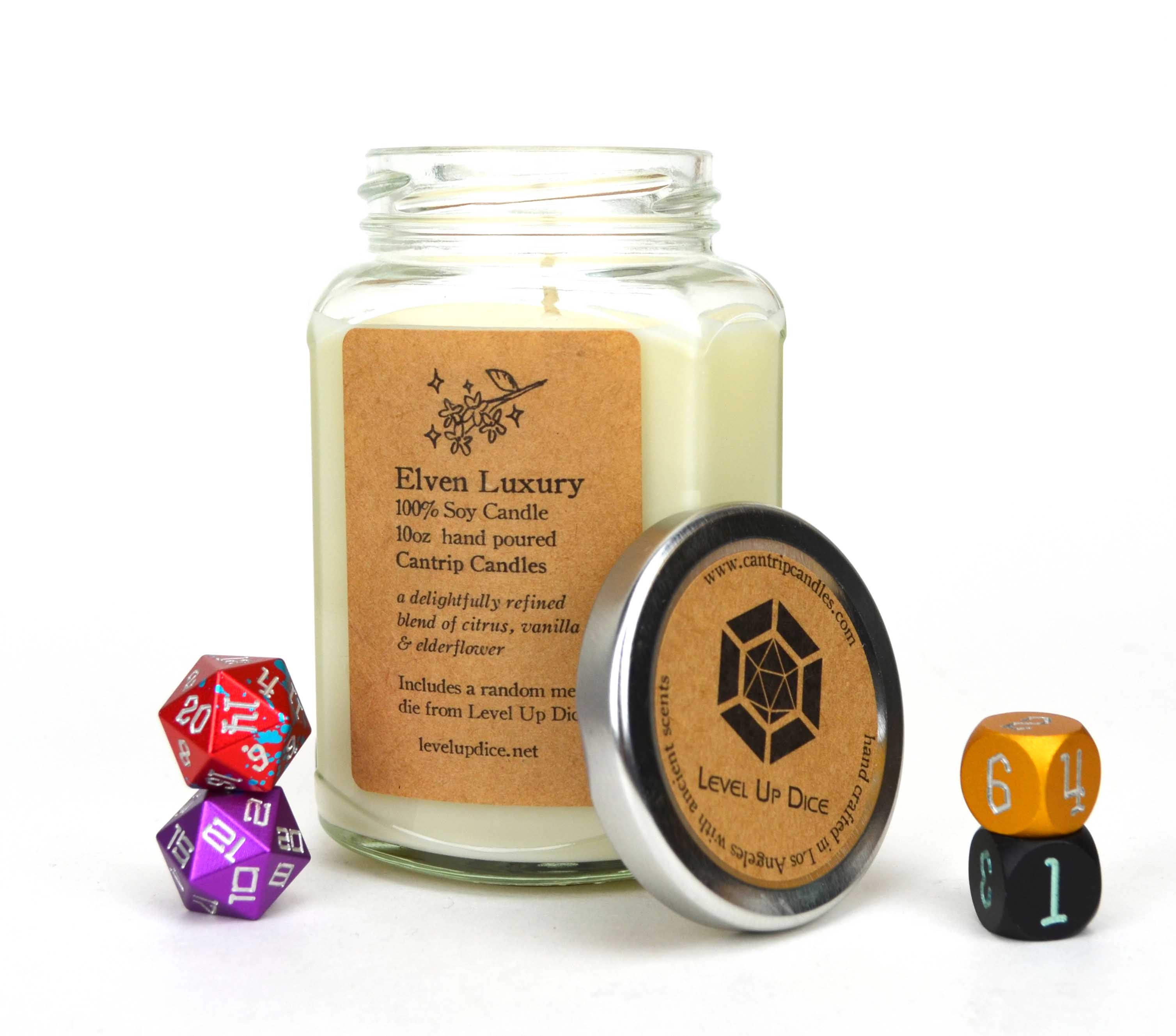 Elven Luxury, by Cantrip Candles