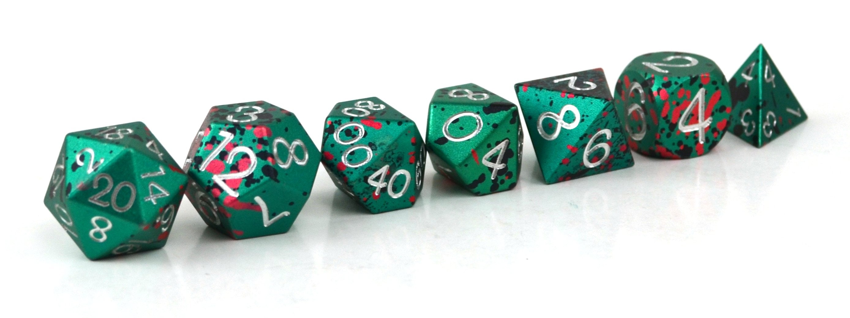 Destiny Aluminium Dice Set of 7
