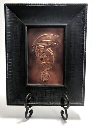 "Dragon Copper Art (9.5"" x 7.5"") by Dragon Fire Art"