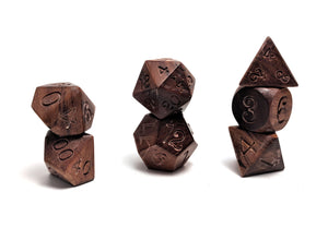 Mabiwasa Wood Dice Set