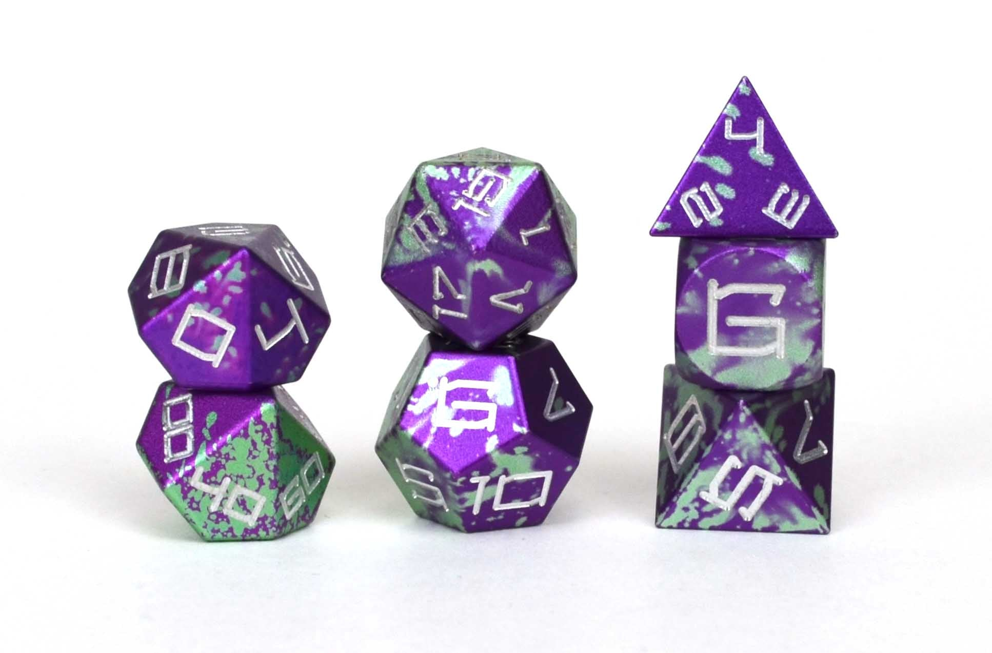 Purple Reign Aluminium Set of 7