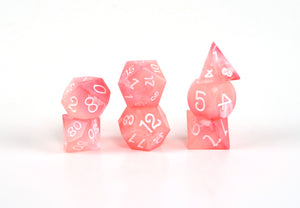 Peaches and Cream Fortune Feyvours Dice Set