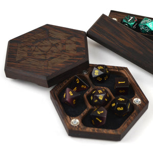 Wenge Tabletop Vault by Wyrmwood