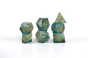 Winter Lake Fortune Feyvours Dice Set