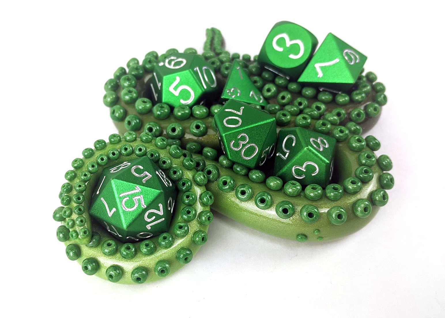 Green Full Set Holder by Killer Tentacle Octopus
