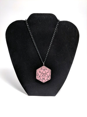 D20 Necklace by Forever Grow