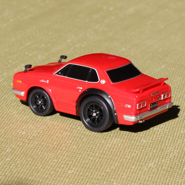 Pull-back Car - Nissan Skyline GT-R (KPGC10) - Red