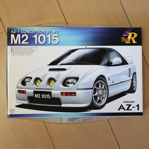 Aoshima 1/24 Plastic Model - AZ-1 Cenception by M2 - M2 1015