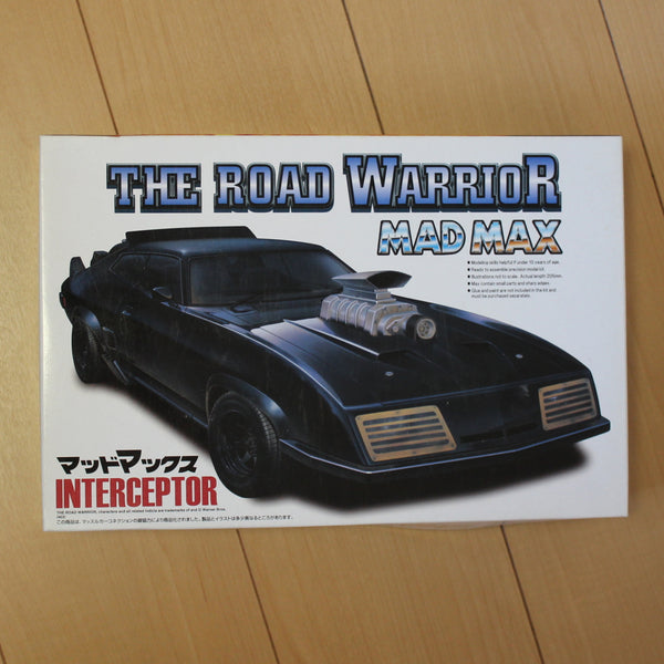 Aoshima 1/24 Plastic Model - Mad Max Interceptor
