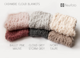 Pre-order - Cashmere Cloud Collection - FleurFotoKnits - Newborn & Sitter Photography Props