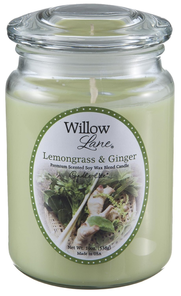 Vela Willow 19oz Lemongrass & GInger