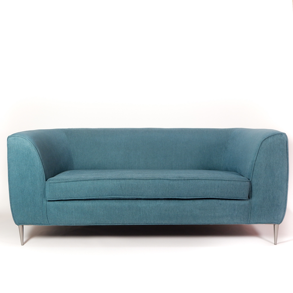 Loveseat Luigi Color Aquamarina
