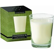 Vela Essential Elements 9oz Lemongrass & Coriander