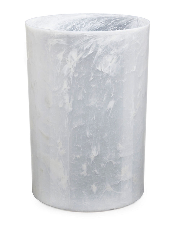 Colonnade Cesto De Basura 18L Color Blanco Onyx