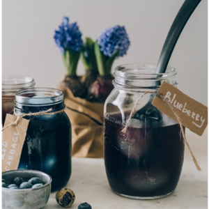 Blueberry Coconut Coffee