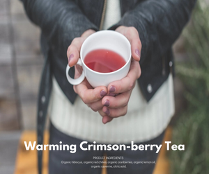 Warming Crimson Berry Loose-Leaf Tea