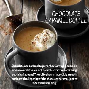 Chocolate Caramel Coffee